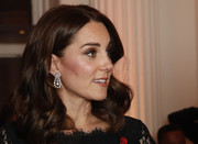 Kate Middleton looked lovely with her bouncy curls at the Anna Freud National Centre Gala.