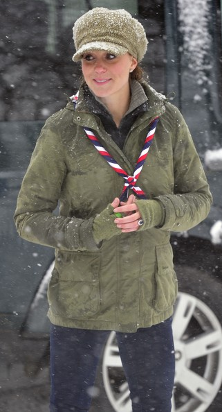 More Pics of Kate Middleton Wool Cap (1 of 38) - Winter Hats Lookbook - StyleBistro