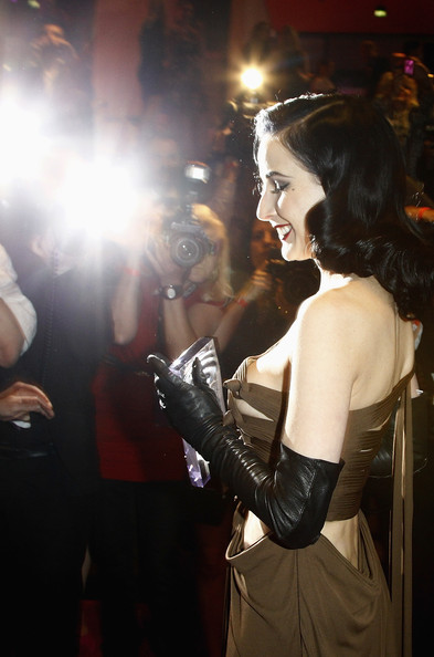 More Pics of Dita Von Teese Red Lipstick (2 of 25) - Dita Von Teese Lookbook - StyleBistro