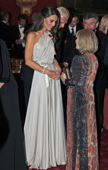 Kate+Middleton in The Duke And Duchess Of Cambridge Attend A Dinner For The National Memorial Arboretum Appeal
