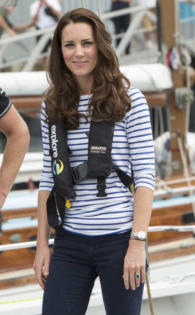 Stripes Ahoy Kate Middleton S Best Looks From The Royal