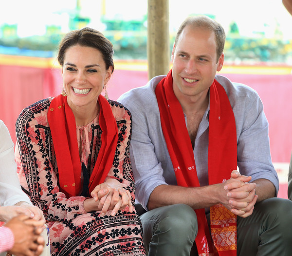 Kate Middleton's Style Diary from the Royals' Trip to India and Bhutan