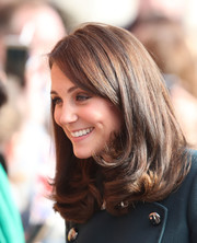 Kate Middleton looked sweet and stylish with her bouncy lob while visiting Sunderland.