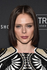 Coco Rocha framed her face with a center-parted bob for the E!, ELLE, and IMG NYFW kickoff celebration.