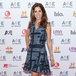 Ana Ortiz at the A&E Upfronts in New York