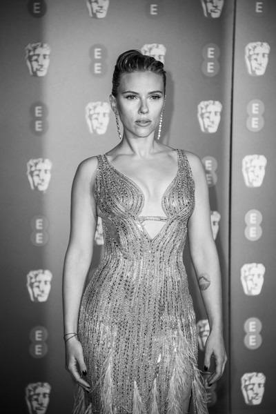 More Pics of Scarlett Johansson Beaded Dress (1 of 39) - Dresses & Skirts Lookbook - StyleBistro