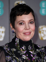 Olivia Colma sported a cute pixie cut at the 2020 EE British Academy Film Awards.