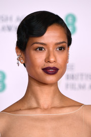Gugu Mbatha-Raw went for a vintage vibe with this finger wave 'do at the 2021 BAFTAs.