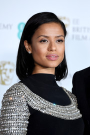Gugu Mbatha-Raw complemented her embellished dress with a pair of diamond studs by EFFY.