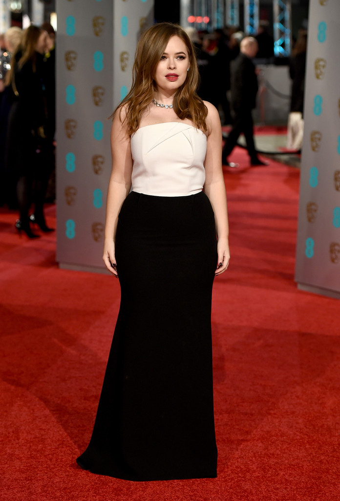 tanya burr 2016 baftas red carpet roundup stylebistro
