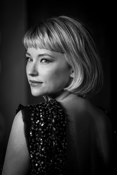 More Pics of Haley Bennett Bob (1 of 6) - Short Hairstyles Lookbook - StyleBistro [image,hair,face,black,photograph,hairstyle,black-and-white,blond,lady,beauty,lip,red carpet arrivals,haley bennett,ee,england,london,royal albert hall,british academy film awards]