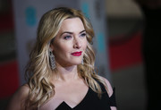 Kate Winslet looked lovely with her windblown waves at the BAFTAs.