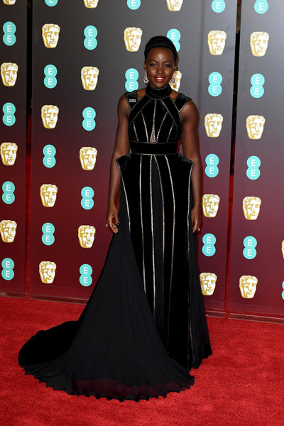 Lupita Nyong'o in Elie Saab Couture