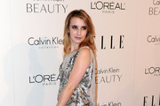 Actress Emma Roberts arrives at ELLE's 17th Annual Women in Hollywood Tribute at The Four Seasons Hotel on October 18, 2010 in Beverly Hills, California.