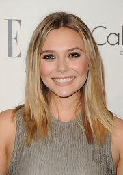 Elizabeth Olsen enhanced her bright eyes with a seriously smoky makeup application at the 'Elle' 18th Annual Women in Hollywood Tribute.