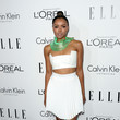 Kat Graham in Pleated White