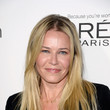 Chelsea Handler's smooth blonde strands and golden glow