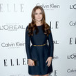 Zoey Deutch in Crisp Navy