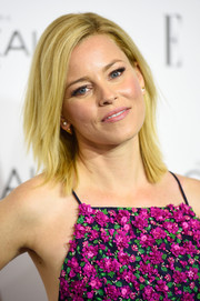 Elizabeth Banks sported an edgy-modern layered cut during the Elle Women in Hollywood event.