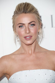 Julianne Hough styled her hair into a chic pompadour for Elle's Women in Hollywood celebration.