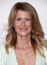 Laura Dern wore her hair in a classic feathered flip when she attended Elle's Women in Hollywood celebration.