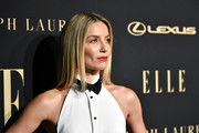 Annabelle Wallis wore her hair in a long straight style at the 2019 Elle Women in Hollywood celebration.