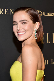Zoey Deutch looked cute wearing this bob at the 2019 Elle Women in Hollywood celebration.