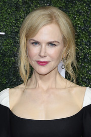 Nicole Kidman pulled off this messy updo at the Elle Women in Television celebration.