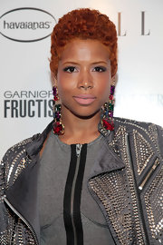 Kelis rocked short curls while attending the Elle Awards.