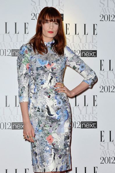 More Pics of Florence Welch Print Dress (1 of 4) - Florence Welch Lookbook - StyleBistro