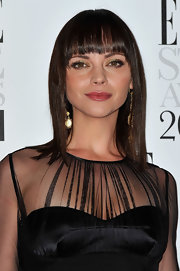Christina Ricci attended the 2012 'Elle' Style Awards wearing her hair in a sleek medium-length bob with blunt bangs.