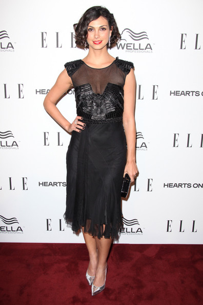 More Pics of Morena Baccarin Little Black Dress (1 of 4) - Morena Baccarin Lookbook - StyleBistro