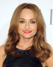 Giada De Laurentiis styled her hair with wavy ends and a center part for the Elle Women in Television celebration.