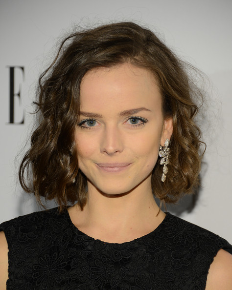 Allison Miller's piecey curls and fluffy texture made this chin-length cut all the more stunning.