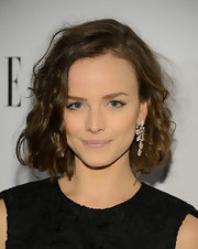 Allison Miller opted for baby pink lips with a matte finish at the 2013 ELLE Women in Television Celebration.