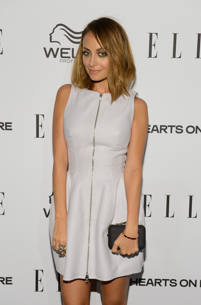 More Pics of Nicole Richie Mid-Length Bob (5 of 14) - Shoulder Length Hairstyles Lookbook - StyleBistro