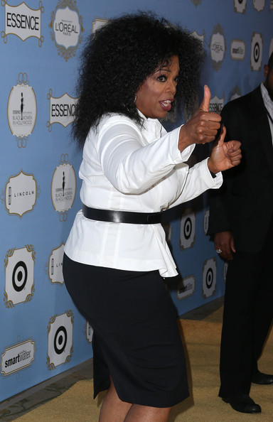 More Pics of Oprah Winfrey Fitted Blouse (5 of 29) - Oprah Winfrey Lookbook - StyleBistro
