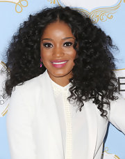 Keke Palmer showed off her voluminous natural curls at the Essence Black Women in Hollywood Awards Luncheon.