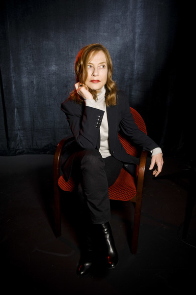 More Pics of Isabelle Huppert Classic Jeans (2 of 10) - Jeans Lookbook - StyleBistro [sitting,photography,fun,long hair,performance,photo shoot,portrait,day 3,champaign,illinois,isabelle huppert]