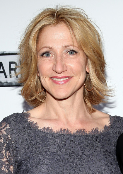 Edie Falco Layered Razor Cut []