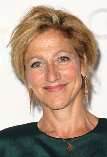 Edie Falco Layered Razor Cut [hair,face,hairstyle,chin,eyebrow,head,blond,skin,forehead,lip,edie falco,mondrian,emmy,skybar,west hollywood,california,los angeles,showtime,nominee reception,emmy nominee reception]