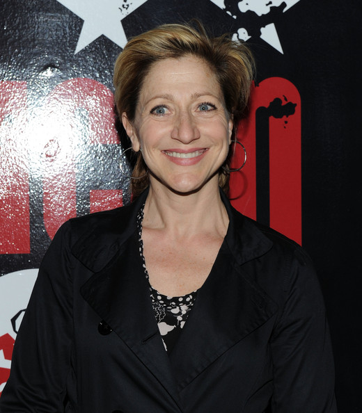 Edie Falco Short Side Part [american idiot,premiere,smile,arrivals,edie falco,curtain call,new york city,st. james theatre,broadway]
