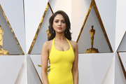 Eiza Gonzalez Halter Dress