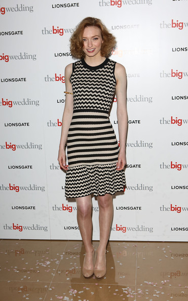 Eleanor Tomlinson Print Dress