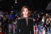 Eleanor Tomlinson Form-Fitting Dress