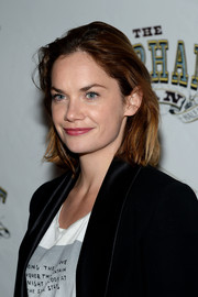 Ruth Wilson wore a casual bob at the opening night of 'Elephant Man.'