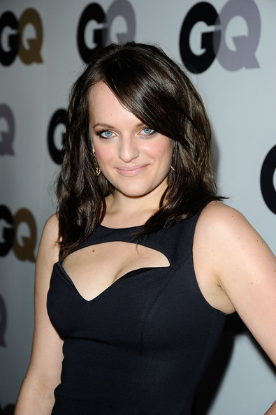 Elisabeth Moss Nude Lipstick [men of the year,hair,hairstyle,shoulder,little black dress,beauty,dress,black hair,brown hair,long hair,joint,party - arrivals,elisabeth moss,california,los angeles,chateau marmont,gq,party]
