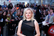 Elisabeth Moss Metallic Clutch