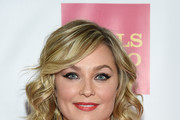 Elisabeth Rohm Medium Wavy Cut with Bangs