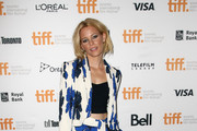 Elizabeth Banks Printed Clutch